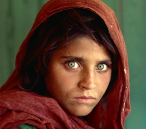 Afghan Girl, by Steve McCurry
